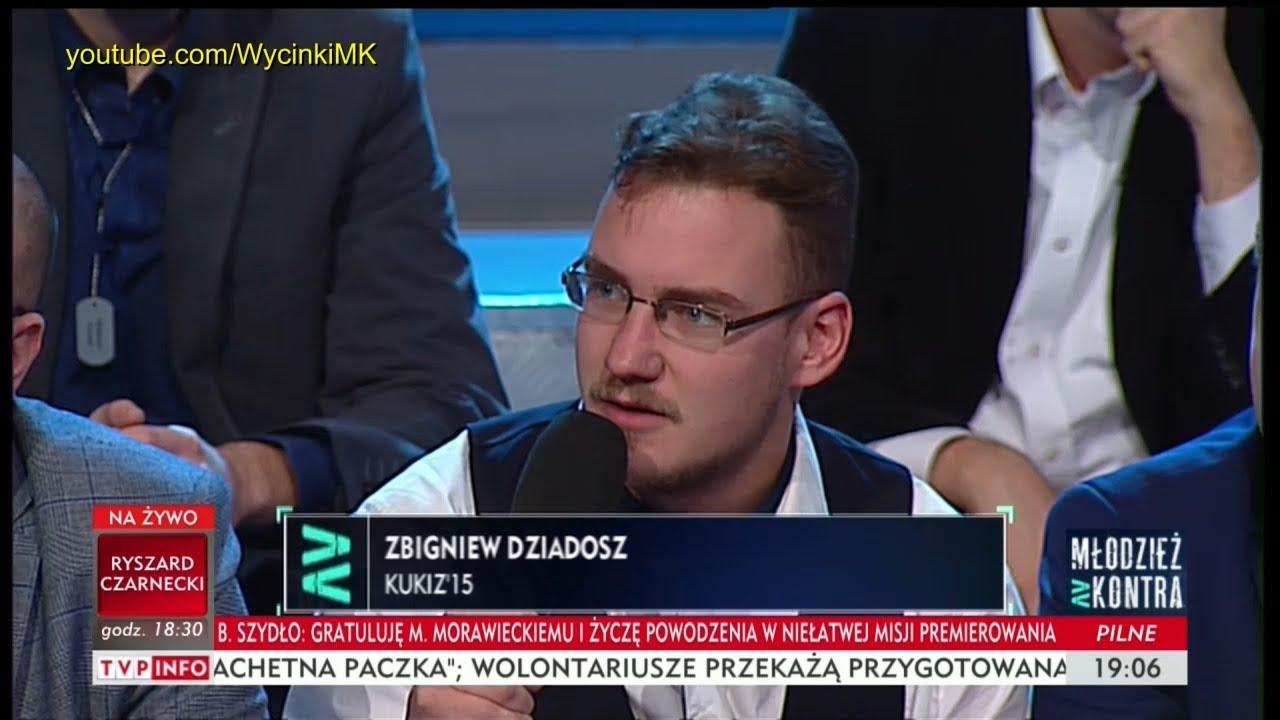 Młodzież kontra 621: Zbigniew Dziadosz (Kukiz'15) vs Ryszard Czarnecki (PiS) 09.12.2017