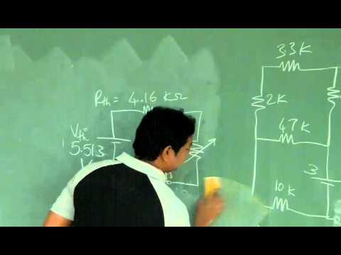 L3 - Maximum power transfer & star delta transformations - EE1030 - Fall 2014 - Electric Circuits