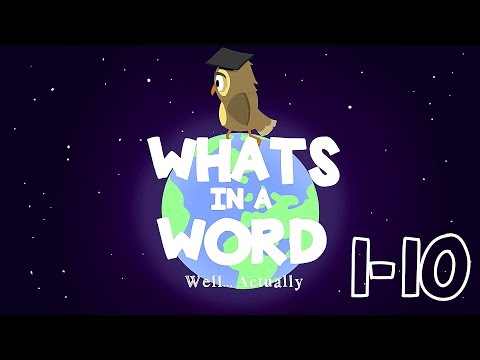 What's in a Word Animated Series #1-10