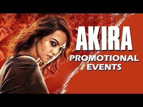 Akira Movie Promotional Events | Sonakshi...