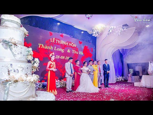 [Bản tin số 34.20] - Tiệc cưới chú rể Thành Long - cô dâu Thu Hà. Phòng Diamond - Vạn Hoa Premium.