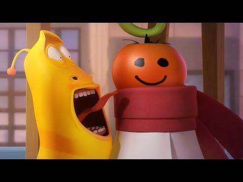 LARVA   THE TOMATO   Cartoons For Children   LARVA Full Episodes
