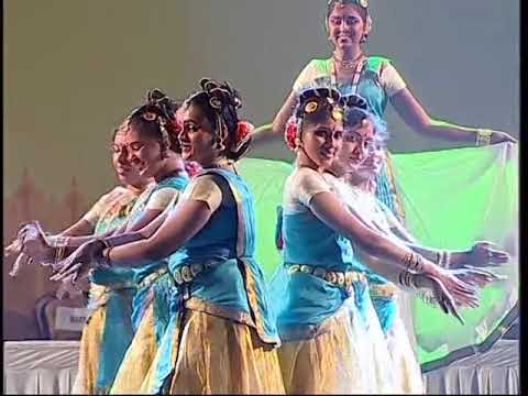 Indian Classical Dance performance @ Global Investors Meet 2012 (Bangalore - India)