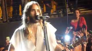 Thirty Seconds to Mars - Intro / The Kill (Acoustic Live. Chile 2014)