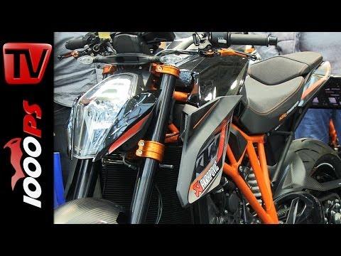 KTM Neuheiten 2014 - Probefahrten mit der 1290 Super Duke R