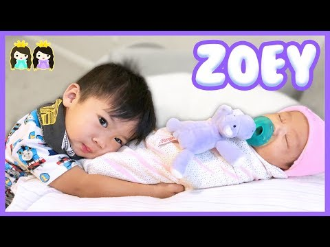 Mommy and Baby Morning Routine! Princess Pham Baby Girl Zoey
