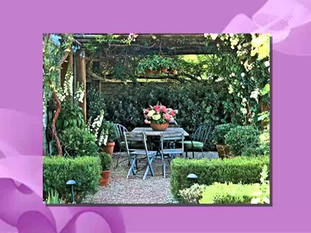 Decoracion de jardines y patios pequeños   youtube