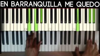 Joe Arroyo - En Barranquilla me Quedo (Piano: Jorge Pava)
