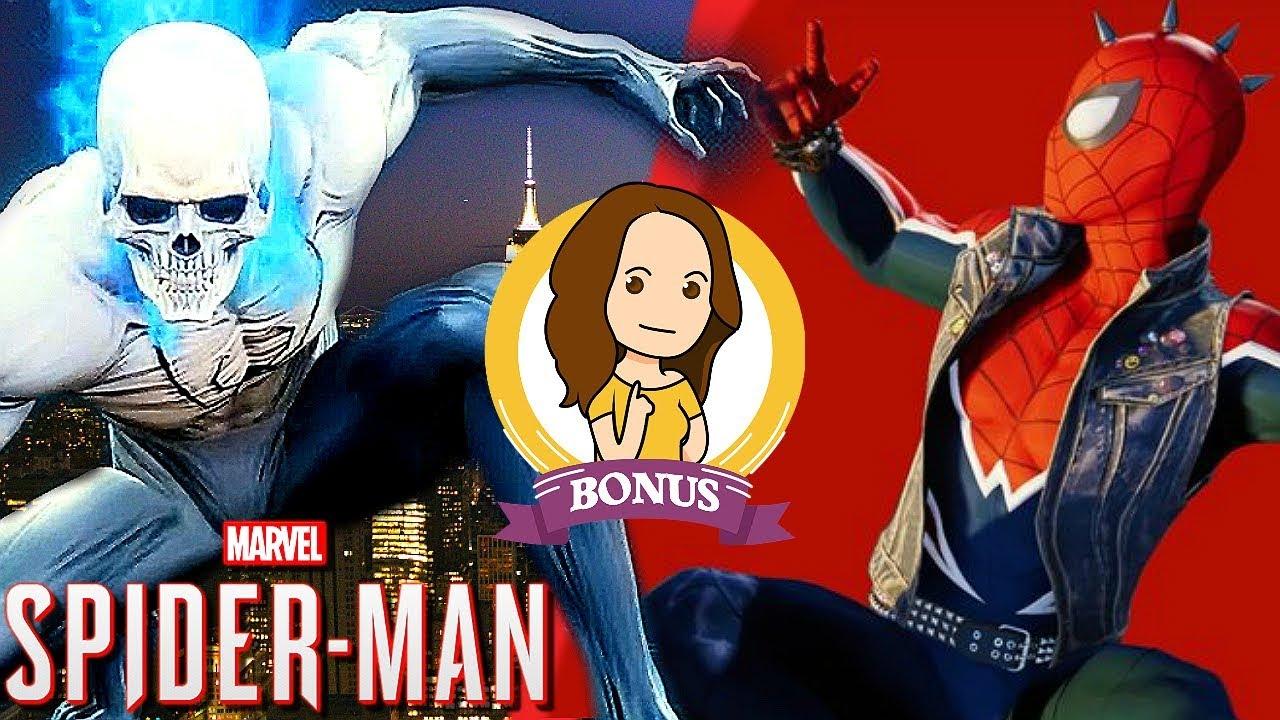 SPIDERMAN PS4, voici tous les costumes et leurs pouvoirs !