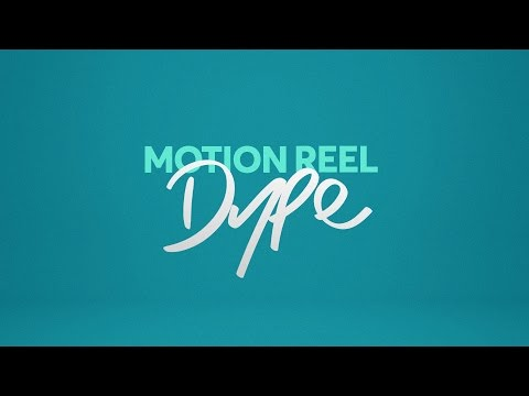 2017 Motion Graphics Reel