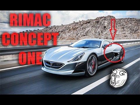 Rimac Concept One - ¿El Auto Eléctrico Mas Rápido Del mundo?