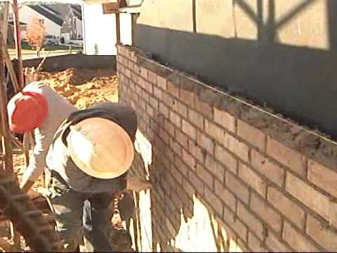 Moisture Management in Residential Construction Series - Brick Installation Drainage Cavity Wall