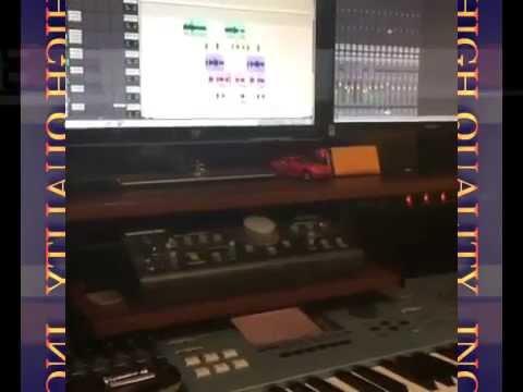 En el estudio  R.I.P Forever JADIEL