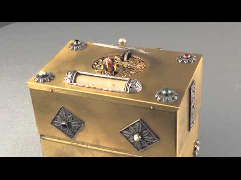 Singing bird jewellry box