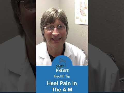 Heel Pain In The A.M.