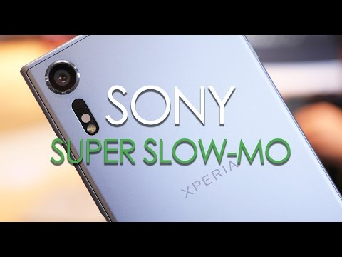 Sony Exmor RS 960fps super slow motion demo
