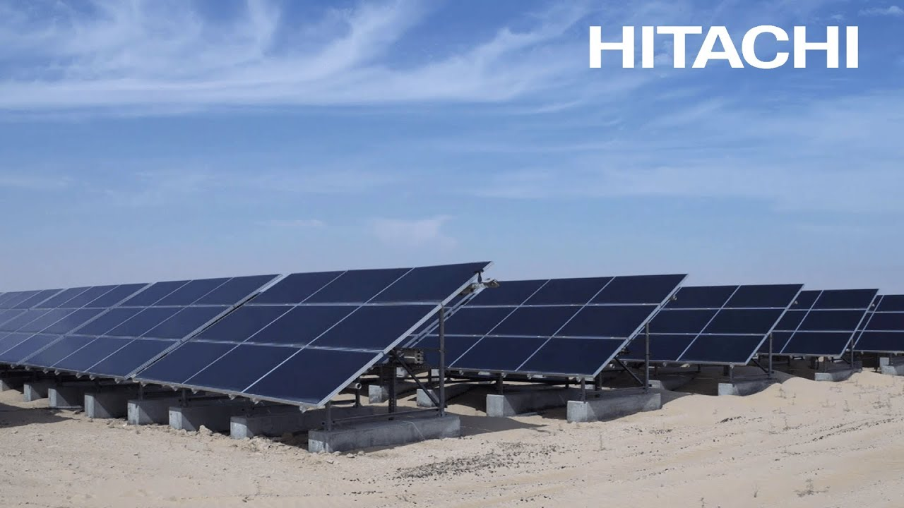 Solution Hitachi solar powered desalination plants Abu Dhabi
