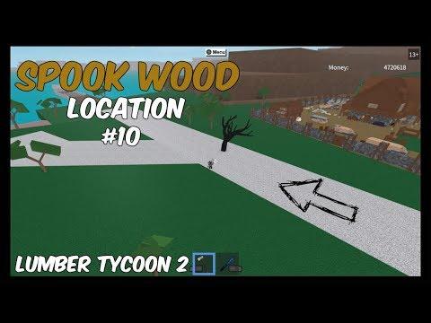 Spook Wood Location #10 [Spook Tree On The Road!] Lumber Tycoon 2