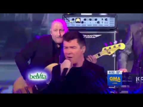 Rick Astley - Together Forever   (Live on GMA 2017)