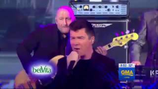 Скачать Rick Astley Together Forever Live On GMA 2017