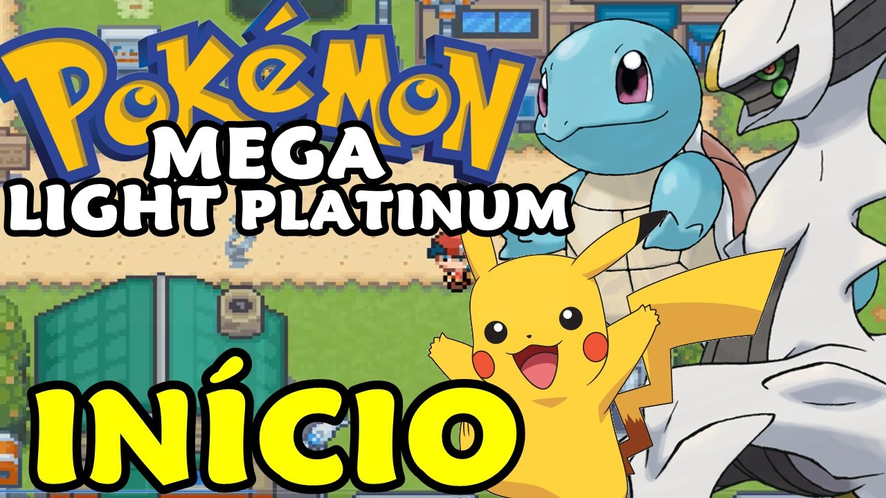 how to download pokemon light platinum rom