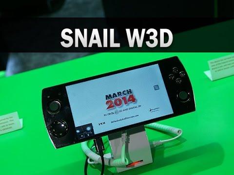 Snail W3D, prise en main au CES 2015 - par Test-Mobile.fr - YouTube