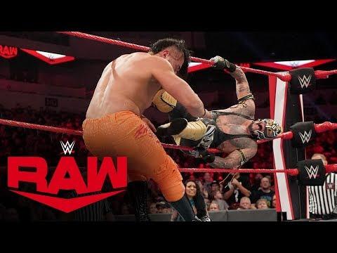 Andrade vs. Rey Mysterio – U.S. Title Ladder Match: Raw, Jan. 20, 2020