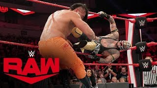 Andrade vs. Rey Mysterio – U.S. Title Ladder Match: Raw, Jan. 20, 2020