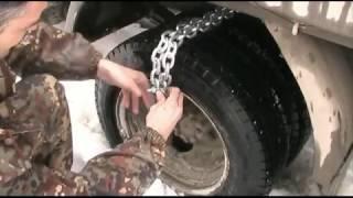 самодельные цепи (браслеты) противоскольжения на газель
