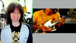 British guitarist reacts to George Lynch's WORRYING technique (for OTHER players!)