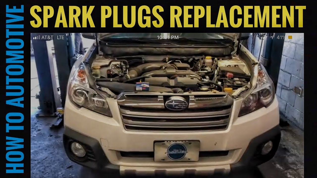 hight resolution of how to replace the spark plugs on a 2009 2014 subaru outback with2014 outback wiring diagram