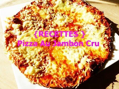 {-recettes-}-pizza-au-jambon-cru