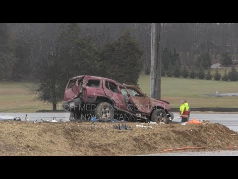 Serious single vehicle crash seriously injuries two men Highway 27 at Lee Clarkson Road