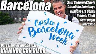 Barcelona es mucho más - CostaBarcelonaWeek - Viajando con Diego