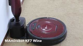 Mamirobot KF7 product detail and description video (Robot vacuum cleaner / Roboterstaubsauger)