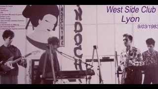 INDOCHINE Leila West Side Club Lyon 09 09 1983