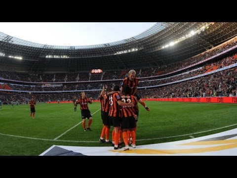 First Game At Donbass Arena. Shakhtar 4-0 Obolon (27/09/2009)