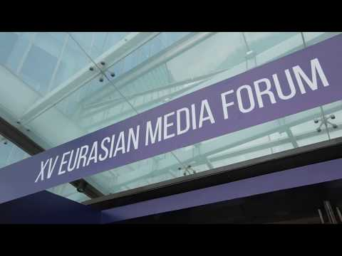 The highlights of the second day of XV Eurasian Media Forum, May 23