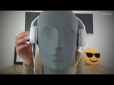 Binaural Tapping & Touching Your Headphones l ASMR for Sleep and Relaxation