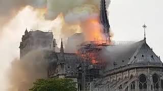 بلدية باريس: حريق كاتدرائية نوتردام «رهيب» (فيديو) | المصري اليوم