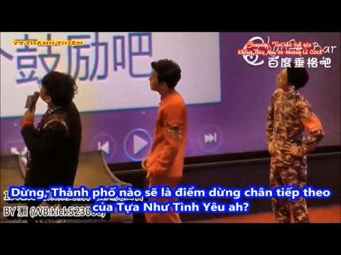 [Vietsub] Thùy Nam - Lễ Cách trả lời câu hỏi và chơi trò chơi trong FM Quảng Châu