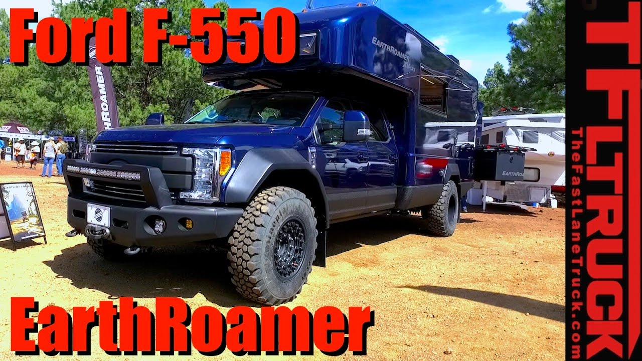 Ford F 550 For Sale >> 2017 EarthRoamer XV-LTS Ford F-550: The Ultimate $500,000 Off-Road RV? - YouTube