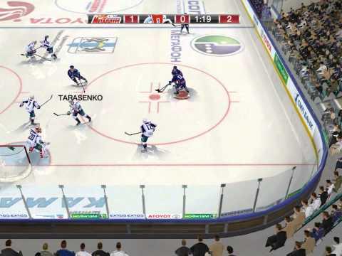 NHL KHL 17 Салават Юлаев Против Сибирь Новосибирск