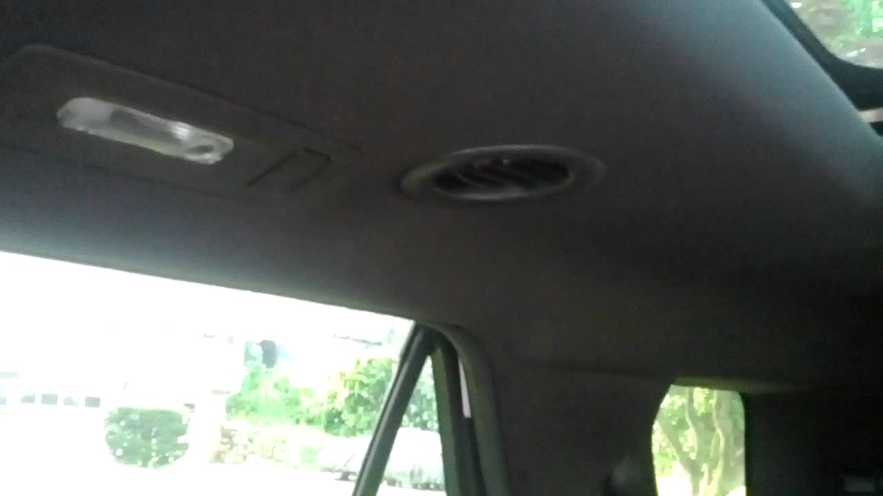 2017 Ford Explorer Roof Leak