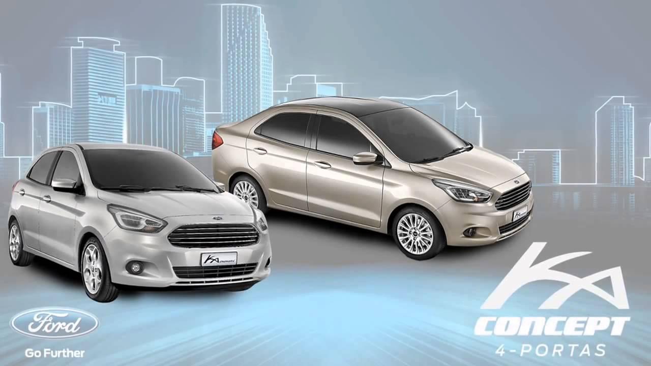 Official Launch New Ford Ka Sedan  Ka Concept Figo