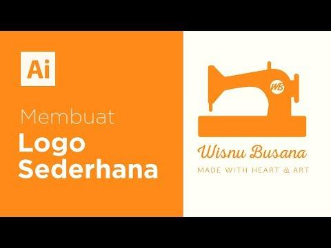 Tutorial Illustrator - Membuat Logo Sederhana Wisnu Busana thumbnail