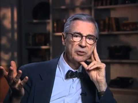 Fred Rogers on how he'd like to be remembered - EMMYTVLEGENDS.ORG