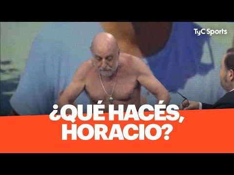 Pagani Se Comparó Con De Rossi Y SE DESNUDÓ Al Aire En Estudio Fútbol
