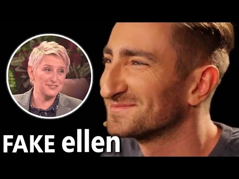 Polish Guru Fakes Being on the Ellen Show