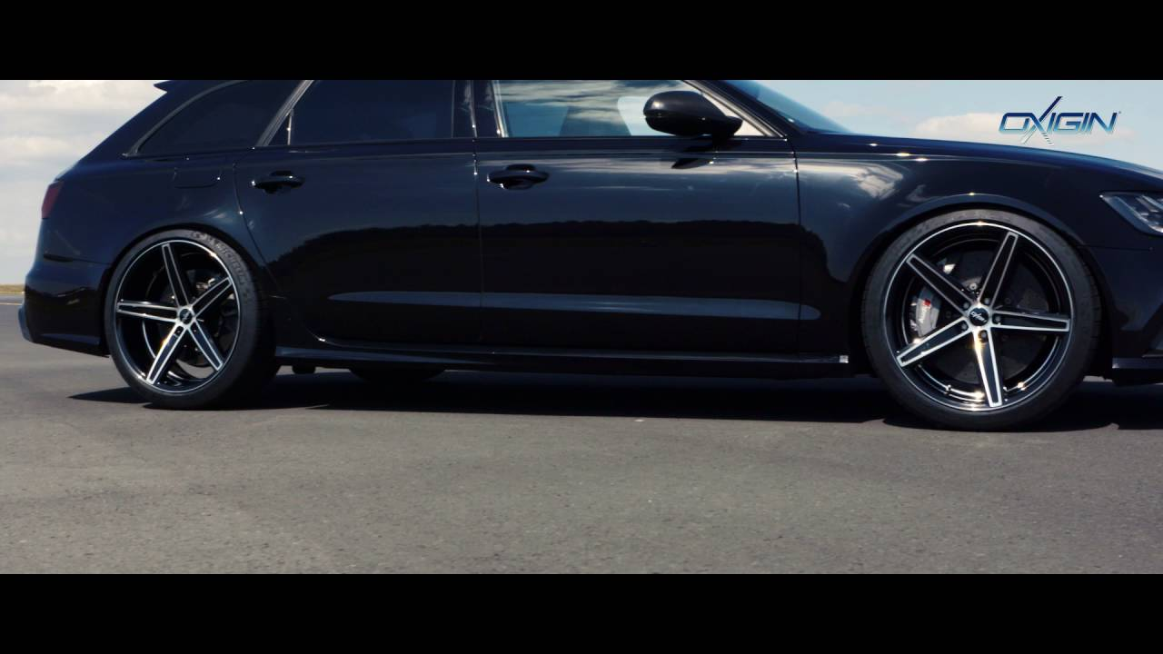 Oxigin 18 Concave Wheels On Audi Rs6 Youtube